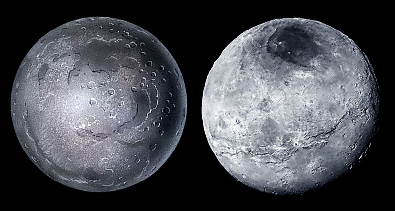 Charon 1999 with 2015 image