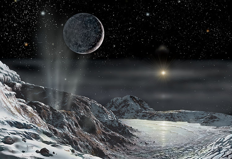 Pluto & Charon 2015