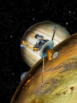 Galileo above Io 2