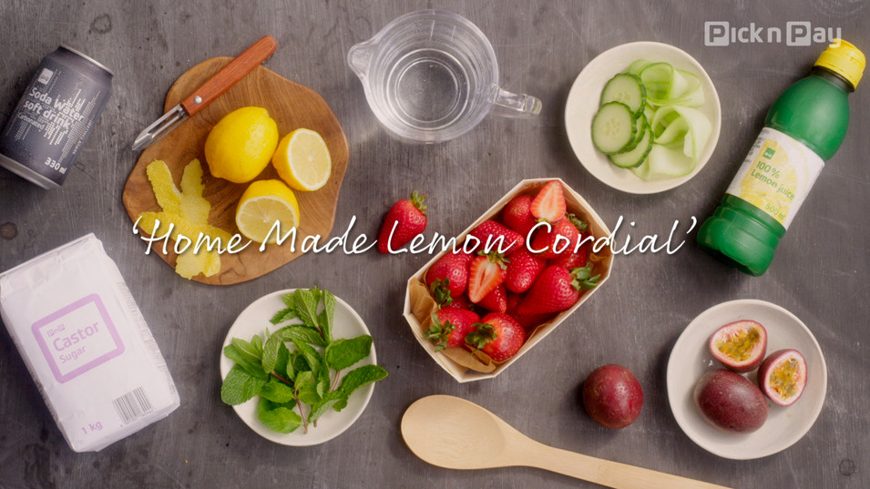 Pick 'n Pay | Lemon Cordial
