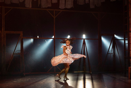 Mireia Mambo - Rosalía. West Side Story. Curve Theatre, Leicester