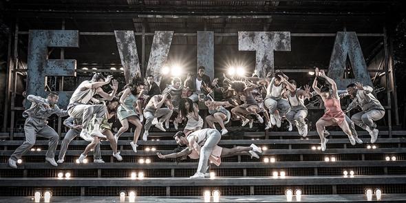 Evita. Regent's Park Open Air Theatre