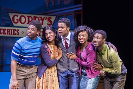 Gordy Family. Motown The Musical. West End Cast.
