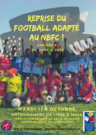 DU FOOTBALL ADAPTÉ AU NBFC !