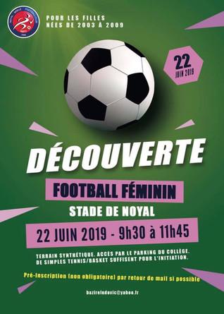 Découverte du football féminin au NBFC !
