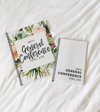 FREE LDS General Conference Notebook Printable