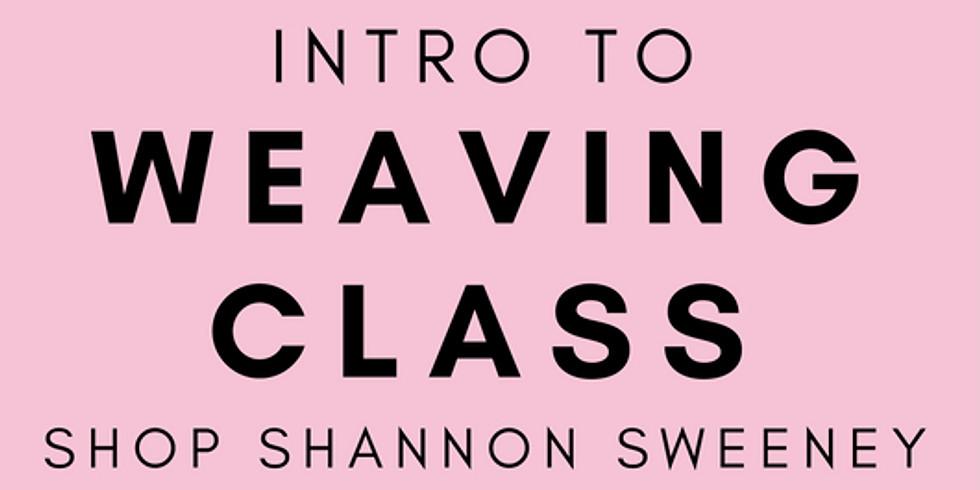 Logan UT Weaving Class