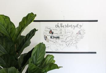 DIY Photo Map