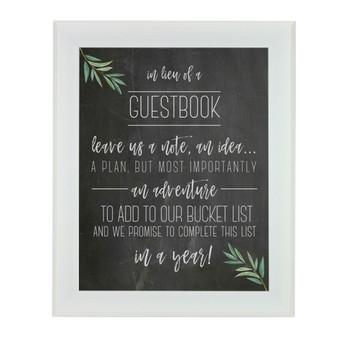 FREEBIE: Wedding Guest Book Sign