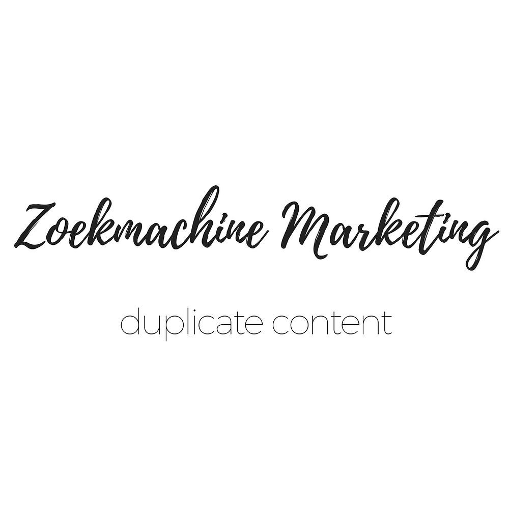 wat is duplicate content | bloesem marketing