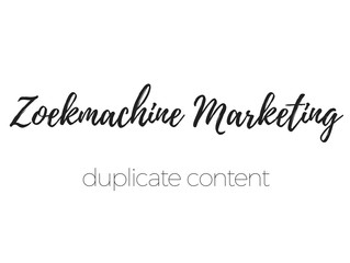 WAT IS DUPLICATE CONTENT?