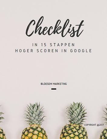 SEO checklist | BLOESEM markting
