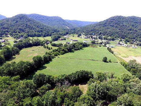 Old Grist Mill Farm, Ariel View, Farm, Estill Co. Kentucky, Richmond, Lexington, Gypsy, Gypsy Vanner, Gypsy Vanner Breeder, Horse Breeder, Horses