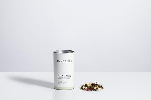 Sencha Green Tea with Rose & Jasmine Mayde Tea