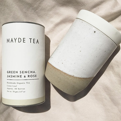 Kami & Kindred Tides Travel Mug + Mayde Tea