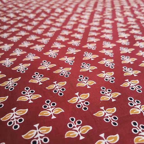 Screen Printed Fabrics - Deep Hues
