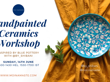 Craft Diaries: Jaipur Blue Pottery