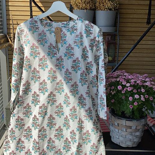 Kurta Style Pyjama Set - Size 40