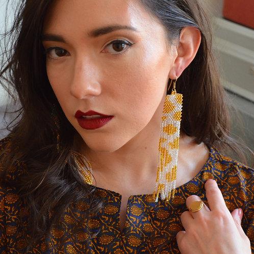 Naga Gold Earrings