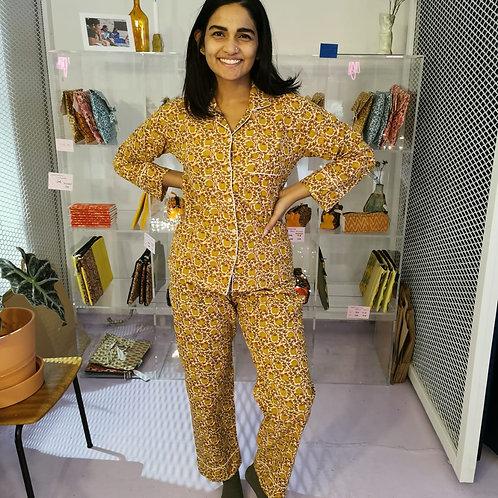 Miryam Block Print Pyjamas