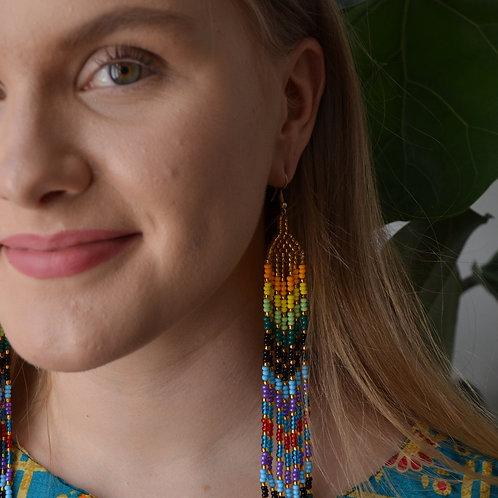 Naga Rainbow Earrings