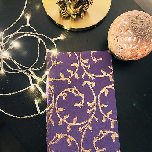 Purple 100% Eco-Friendly Notebook