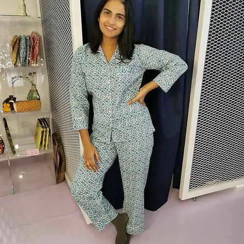 Shanti Block Print Pyjamas