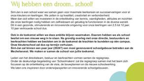 Groot nieuws!! #droomvaneenschool