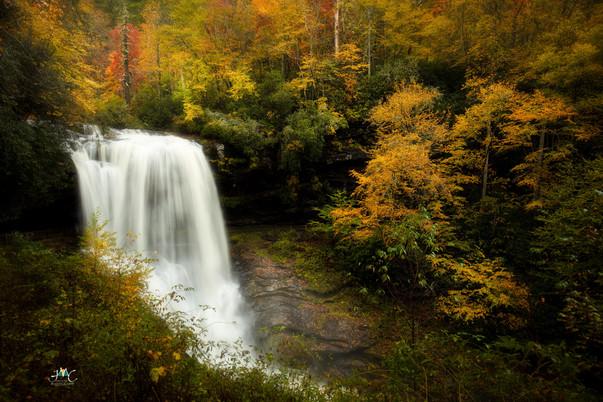 Falling at Dry Falls