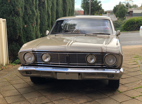 Detailing a 1970 Ford Fairmont XY