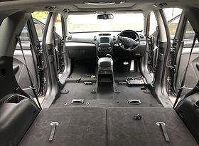 remove interior car seats to deep clean interior