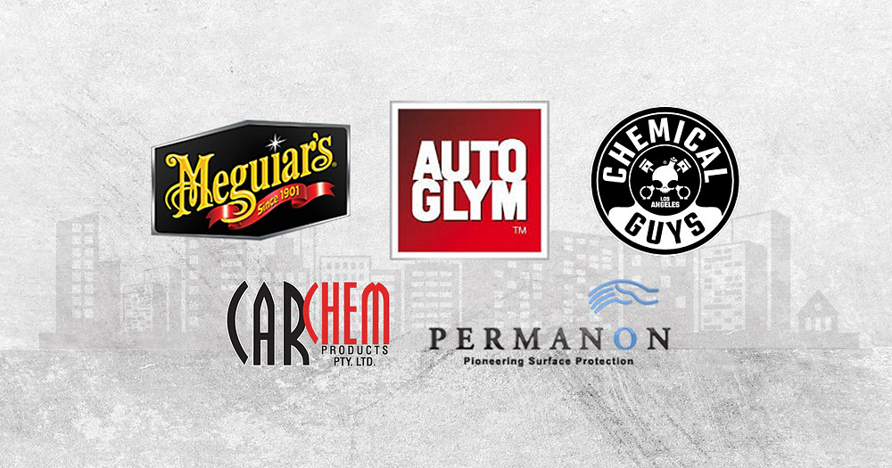 car detailing products - brands we trust