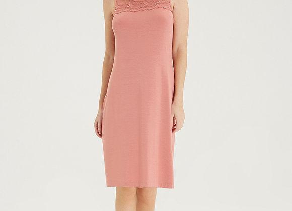 Blackspade Sleeveless Nightgown in Salmon Pink