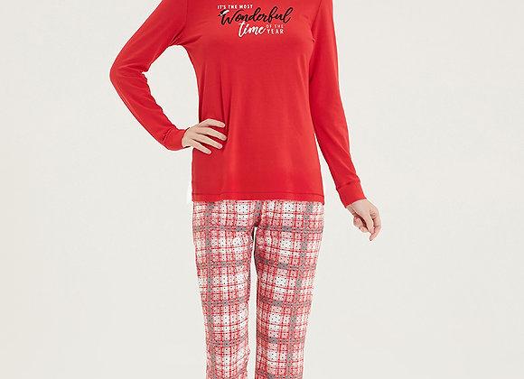 Blackspade Ladies Christmas PJ Set in super soft Modal Fabric RRP £55.50