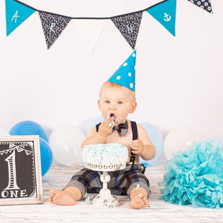 Kindershooting / Kinderfotografie / Cake Smash