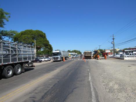 DNIT/RS retoma obras na Travessia Urbana de Santa Maria