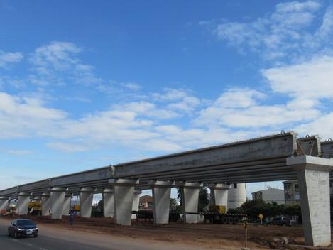 Travessia Urbana avança e mais dois viadutos começam a tomar forma
