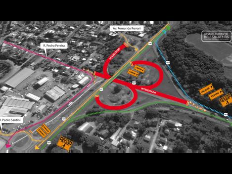 Duplicação BR158/287-RS: DNIT lançará vigas dos viadutos da Duque de Caxias e do viaduto da Faixa No