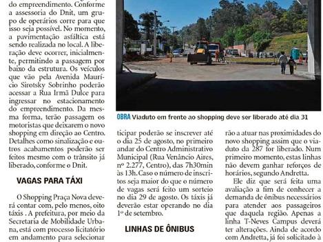 De carro, táxi ou ônibus, veja como chegar ao novo shopping de Santa Maria