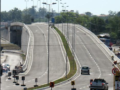 Travessia Urbana de Santa Maria: DNIT/RS libera trânsito no viaduto do Castelinho