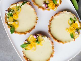 Tortinhas de limão - RAW, VEGAN, GLUTEN & SUGAR FREE!
