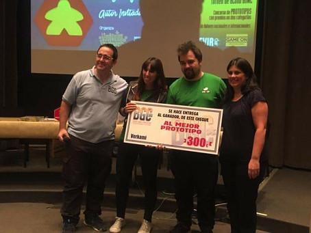 Premio BGC mejor proto familiar para el estudio Sulker