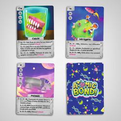 Cartas Atomic Bond