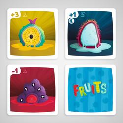 Cartas Fruits