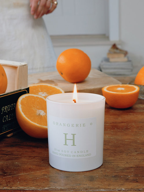Signature Single Wick 30cl Orangerie Scented Soy Wax Candle