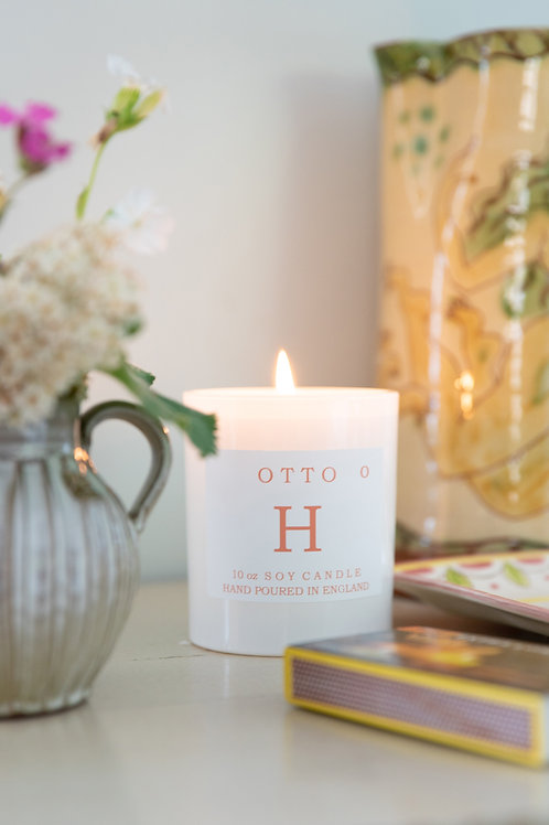 Signature Single Wick 30cl Otto Scented Soy Wax Candle