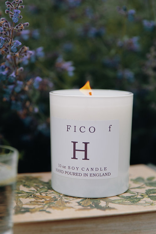 Signature Single Wick 30cl Fico Scented Soy Wax Candle