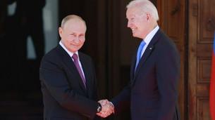 Joe Biden, Vladimir Putin y el peso de la historia