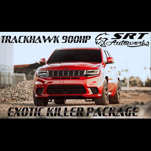 TRACKHAWK 900HP EXOTIC KILLER PACKAGE