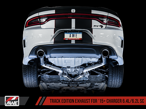AWE (TRACK EDITION) CATBACK EXHAUST FOR 2015+ CHARGER 6.2/6.4